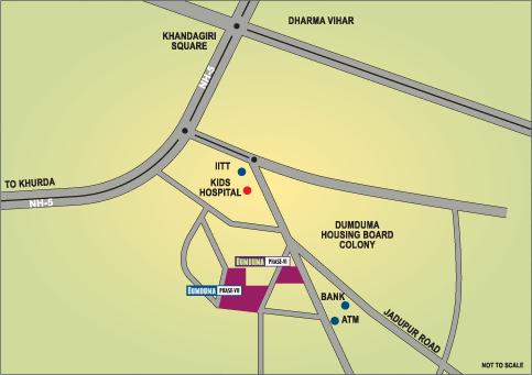Dumduma-map
